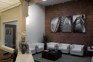 Visage San Francisco Facial Plastic Surgery Office Reception Area