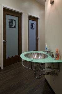 Visage San Francisco Facial Plastic Surgery Office Green Sink